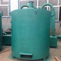 厚佳无烟高效木材炭化炉 连续式吊装炭化炉 椰子壳碳化设备