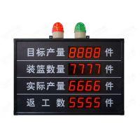 天海专业LED生产看板