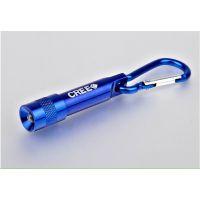 迷你手电筒带电池 钥匙灯 手电筒 铝手电筒1 LED灯