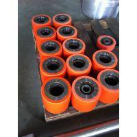 上海聚氨酯工厂聚氨酯输送滚轮橡胶加工生产有弧度聚氨酯橡胶产品