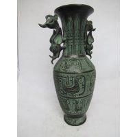 凤纹瓶 影视道具 仿古青铜器 工艺品摆件 双龙瓶 厂家直销礼品