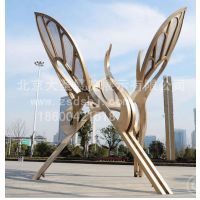 北京厂家制作广场雕塑,大型艺术雕塑,公园不锈钢雕塑