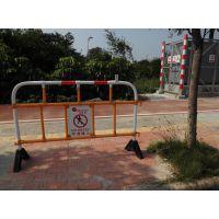 供应工厂直销华顺出口香港、澳门、马来西亚塑胶铁马、道路隔离栏、交通护栏、防护栏、道路交通设施