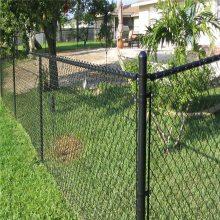 喷塑勾花网 体育场围栏网 足球场护栏网图片