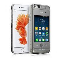 4.7寸双卡双待 iphone6/6s可通话6P手机壳苹果备用机卡片 苹果皮