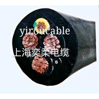 供应上海奕柔卷筒电缆 起重机卷筒电缆 YFFB扁电缆