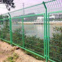 三角折弯护栏网 园林绿化圈地网 体育场馆外界围网