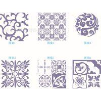 蓝色魅惑拼花 300*300 仿古地板砖 佛山瓷砖 青花瓷 背景墙小花砖