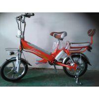 16寸48V电动自行车 锂电池一体轮男女助力车招商加盟代理厂家