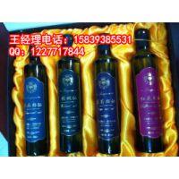 高档礼盒 亚麻籽油+红花籽油+葡萄籽油+核桃油 低温物理压榨油