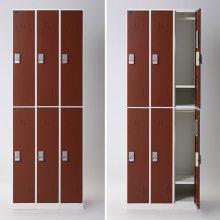 浴室澡堂用12门插卡更衣柜图片及价格 便宜实惠的衣柜换衣柜批发