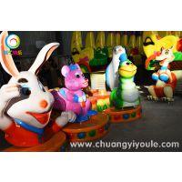 供应 香蕉火车/欢乐打地鼠游乐设备
