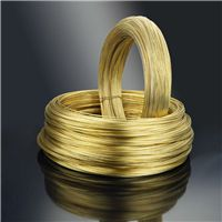 欧盟环保H65黄铜线/电器插脚用黄铜扁线1.45*6.25mm