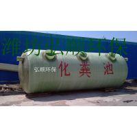 井冈山卫生院污水处理设备玻璃钢耐腐好,弘顺质量过硬