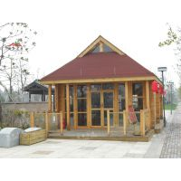 厂家直销防腐木售货亭景区售卖小木屋商业木屋