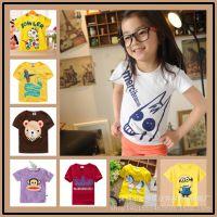 2015宝宝夏装新款男童装女童装短袖T恤儿童 超可爱卡通T恤