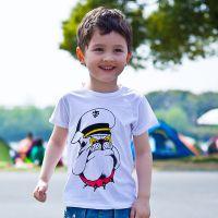 厂家批发 夏季品牌纯棉短袖外贸童装 韩版儿童T恤 阿里巴巴童装网