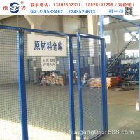 广州车间隔断网厂家供应货物仓储分隔网安装简易耐用钢丝隔离网