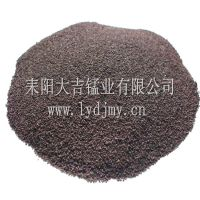 耒阳大吉锰业锰砂滤料厂家直销 30%含量1-2mm天然锰砂滤料 地下水除铁除锰专用