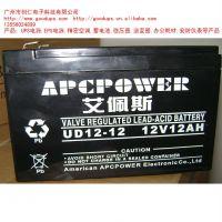 提供美国艾佩斯监制摩托车电池12V12AH电瓶车电动车专用充电电池