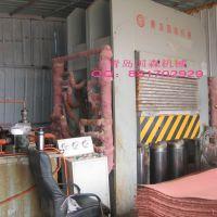 供应青岛国森制造鞋材纸板工业纸板压机设备Cardboard Press
