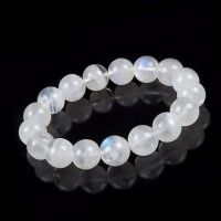 批发天然蓝月光石手链 水晶 蓝月光石 饰品 颗颗蓝光 代理加盟