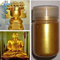 佛像喷涂、工艺品装饰用黄金粉|超闪金粉|高亮金粉