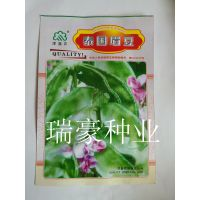 寿光蔬菜 家庭小菜园 泰国眉豆种子 家庭种植绿扁豆种子 袋装