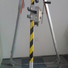 救援三脚架 铝合金救援三角架 高强度铝合金材料 卷扬机带自制刹车装置