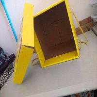 清远厂家加工食品大礼包纸板盒、小黄人包装固定纸盒1000起订