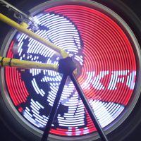 自行车风火轮灯丨辐条灯丨自行车装饰