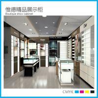 常州制作眼镜展示柜,烤漆柜台加工,精品展柜设计