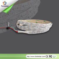 专业生产LEDF5V 5050全彩灯条灯带 LED滴胶灯条 2812幻彩60灯条