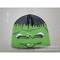 毛线帽子订做 动物帽 2013冬季新款儿童动物造型帽子 宝宝针织帽