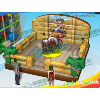 买一个斗牛机做生意挣钱吗 小孩大人都能喜欢玩的斗牛机 西班牙斗牛机生意