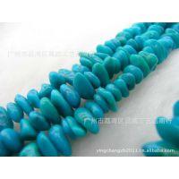 【昌威】 天然高仿绿松石不定型串珠