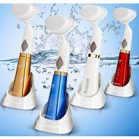 六代防水电动声波按摩洗脸刷子吸黑头工具毛孔清洁器面部美容仪器