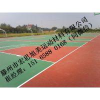 日照环保硅pu网球场哪里有售 环保硅pu网球场品牌型号 环保硅pu网球场特性