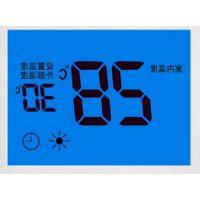 SAJ/三晶 供应地暖温控器 LCD液晶屏 LCD显示屏厂家