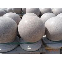 天和雕塑 大理石圆球 挡路珠 隔离圆球石球 庭院门柱珠