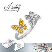 戴思妮 时尚水晶戒指 采用施华洛世奇元素 精致戒指 女士饰品 厂家直销