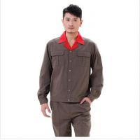 夏季长袖套装 热销款 工装 工作服定做 专业生产 厂家直销