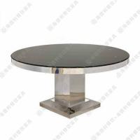 供应不锈钢餐桌 多人位餐桌椅组合 自助餐厅火锅桌 海德利定做