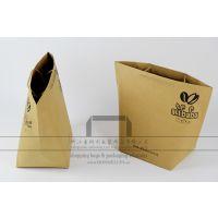 生产咖啡豆包装袋,麻绳手提纸袋定做,牛皮纸食品袋厂家