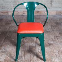海德利厂家定制 LOFT美式金属铁艺餐椅 批发