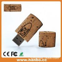 2015款式天然木质带帽创意u盘2gb 塑料热销宝马车钥匙usb