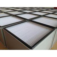 供应有隔板高效过滤器,外框可选木框、镀锌框、铝框、不锈钢框。