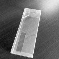 厂家生产PVC盒 透明塑料包装盒 长方形丝巾礼盒 可丝印胶盒 出口