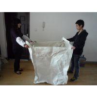 供应青岛周边地区沙土吨包袋 淤泥吨袋 塑料圆形集装袋 可来图加工定制