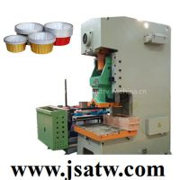 aluminum cake baking cup making machine for microwave/oven use